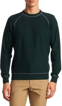 Luciano Barbera Men's Active Cashmere Crew Sweater