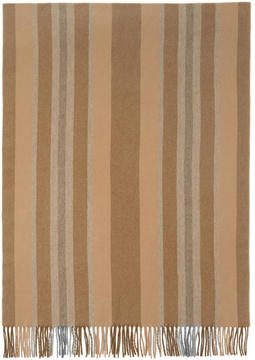 Acne Studios Brown Striped Canada Scarf