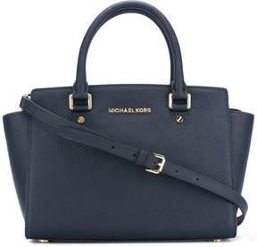 MICHAEL Michael Kors Selma Leather Shoulder Bag