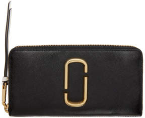 Marc Jacobs Black Standard Continental Wallet