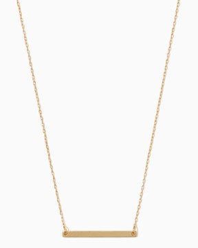 Charming charlie Mini Bar Pendant Necklace