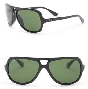 Ray-Ban Pilot 59mm Aviator Sunglasses