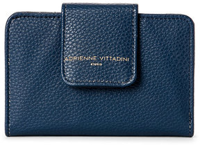 adrienne vittadini Navy Pebbled French Purse