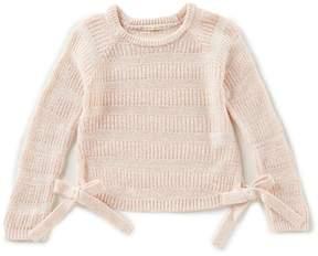 Copper Key Big Girls 7-16 Long-Sleeve Bow Sweater