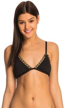 Bikini Lab Swimwear Weaving On A Jet Plane Triangle Bikini Top 8140385