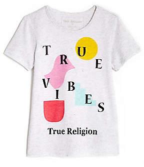 True Religion TRUE VIBES TODDLER/LITTLE KIDS TEE