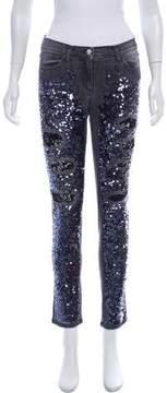 Flavio Castellani Mid-Rise Skinny Jeans w/ Tags
