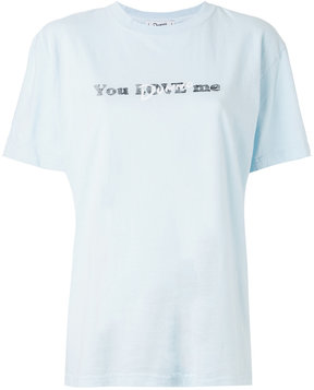 CITYSHOP You Dunno Me T-shirt