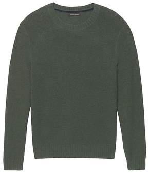 Banana Republic Terry-Knit Crew-Neck Sweater