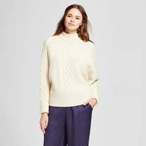 Cliche Women's Cable Pullover Sweater