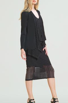 Clara Sunwoo Black Perforated Lapel