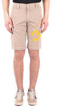 Mason Men's Beige Cotton Shorts.