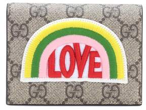 Gucci Small embellished wallet - BEIGE - STYLE