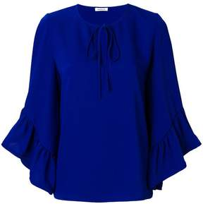 P.A.R.O.S.H. front tie blouse
