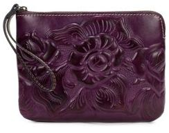 Patricia Nash Cassini Leather Wristlet
