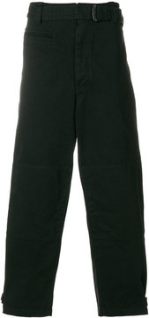 Lemaire cropped wide trousers