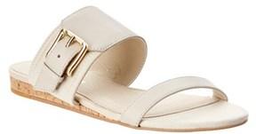 Donald J Pliner Bien Leather Wedge Sandal.
