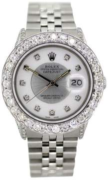 Rolex Datejust Stainless Steel White Dial 36mm Watch