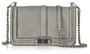 Rebecca Minkoff Women's Grey Leather Shoulder Bag. - GREY - STYLE
