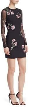 Cinq à Sept Anna Floral Mesh Dress