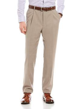 Hart Schaffner Marx Chicago Fit Pleated Solid Dress Pants