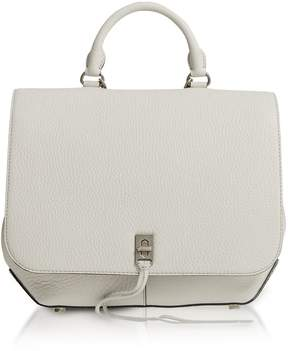Rebecca Minkoff Putty Leather Darren Convertible Backpack - LIGHT GRAY - STYLE