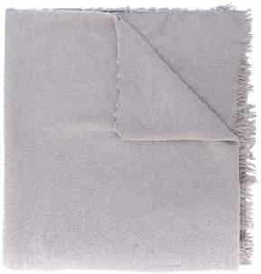 Rick Owens fringe detail scarf