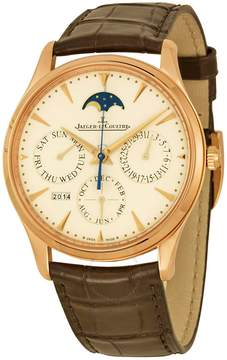Jaeger-LeCoultre Jaeger Lecoultre Master Ultra Thin Perpetual Calendar Automatic Men's Watch