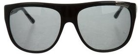 Roberto Cavalli Oversize Tinted Sunglasses