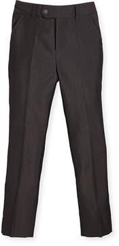 Appaman Slim Suit Pants, Charcoal, Size 4-14