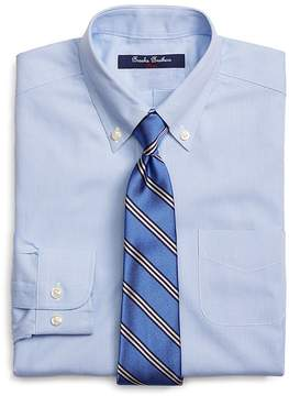 Brooks Brothers Boys' Houndstooth Check Dress Shirt - Little Kid, Big Kid