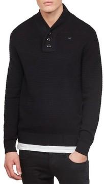 G Star Men's Rc Tain Shawl Collar Sweater