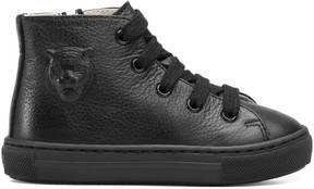 Gucci Toddler embossed high-top sneaker
