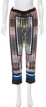 Clover Canyon Digital Printed Straight-Leg Pants