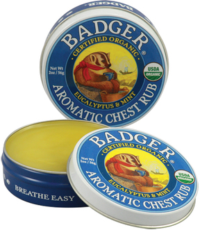 Aromatic Chest Rub by Badger (0.75oz Balm)