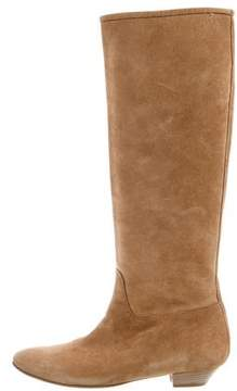 Sigerson Morrison Suede Knee-High Boots