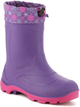 Kamik Girls Snobuster2 Toddler & Youth Snow Boot