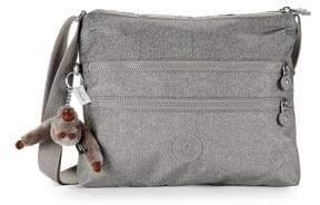 Kipling Alvar Metallic Crossbody Bag - PEWTER - STYLE