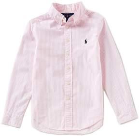 Ralph Lauren Big Boys 8-20 Button-Down Long-Sleeve Poplin Shirt