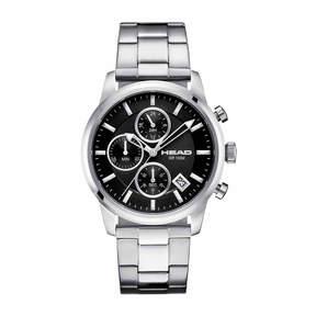 Head Match Point Mens Silver Tone Bracelet Watch-He-004-01