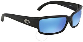 Costa del Mar Caballito Blue Mirror 580G Polarized Rectangular Sunglasses CL 11 OBMGLP