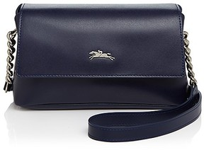 Longchamp Honoré 404 Convertible Crossbody - NAVY/SILVER - STYLE