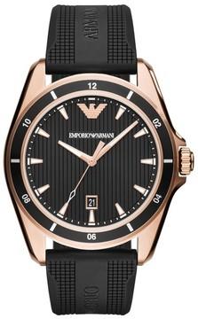 Emporio Armani Silicone Strap Watch, 44Mm