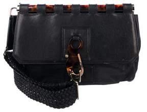 Tom Ford Leather Flap Shoulder Bag