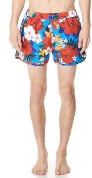 Ami Floral Swim Trunks