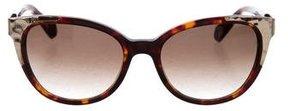 Balmain Tortoiseshell Cat-Eye Sunglasses