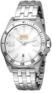 Just Cavalli Mens Ss Watch With Silver Dial.