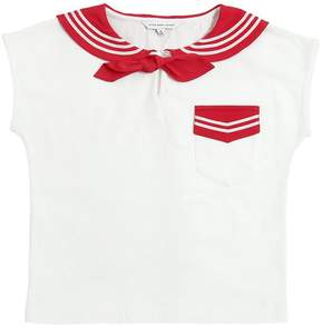 Little Marc Jacobs Sailor Cotton Jersey T-Shirt