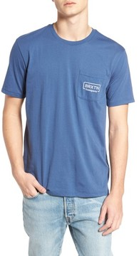 Brixton Men's Crosswhite Pocket T-Shirt