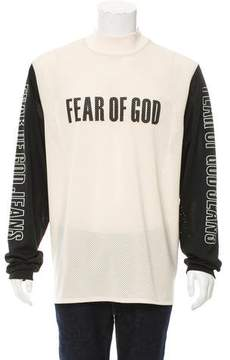 Fear Of God 2017 Mesh Logo T-Shirt